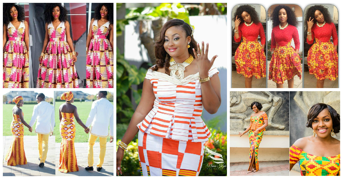 2015 Amazing Kente Vs Ankara Styles