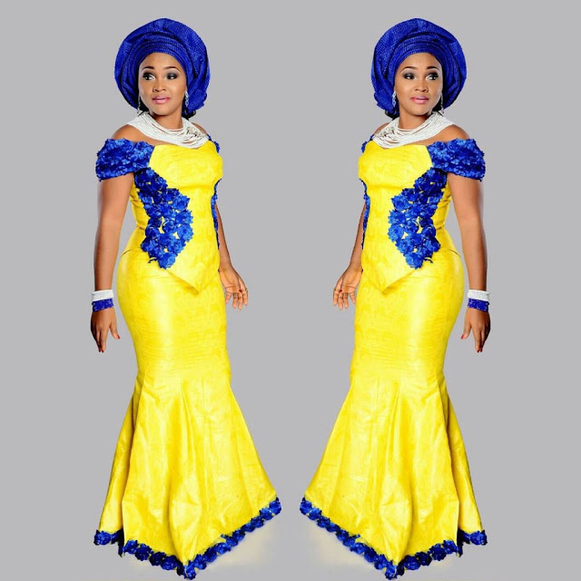 Fashion Gallery Mercy Aigbe Ankara Style 1